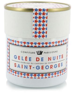Gelée de Nuits Saint-Georges jelly CONFITURE PARISIENNE