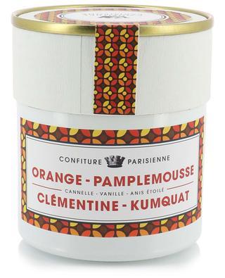 Orange, Pamplemousse, Clémentine, Kumquat jam CONFITURE PARISIENNE