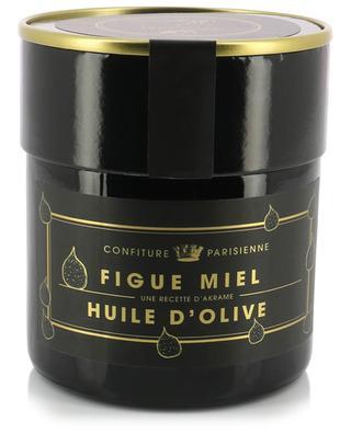 Confiture de figue, miel et huile d'olive signée Akrame CONFITURE PARISIENNE