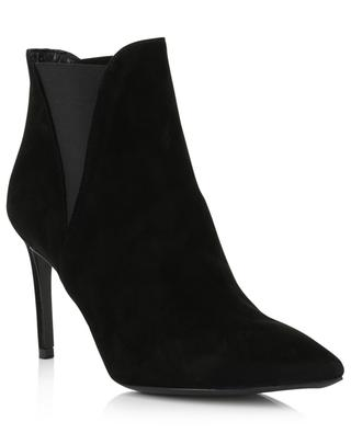 Heeled suede ankle boots 80 BONGENIE GRIEDER
