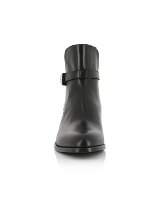 Smooth leather ankle boots with straps BONGENIE GRIEDER