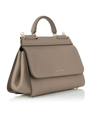 Sicily Soft Small tumbled leather handbag DOLCE & GABBANA