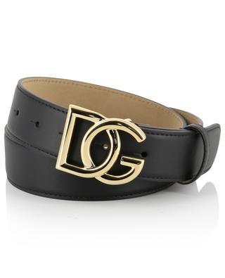 Gürtel aus Leder mit Logo DOLCE & GABBANA