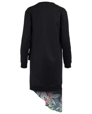 Cotton blend and silk knit dress BARBARA BUI