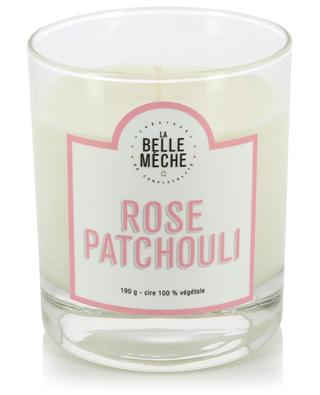 Rose Patchouli scented candle LA BELLE MECHE