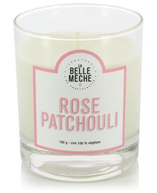 Bougie parfumée Rose Patchouli LA BELLE MECHE