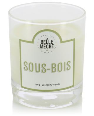 Sous-Bois scented candle LA BELLE MECHE