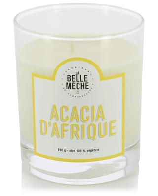 African Acacia scented candle LA BELLE MECHE