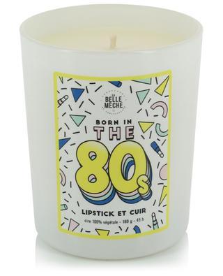 Bougie parfumée illustrée Born in the '80s LA BELLE MECHE