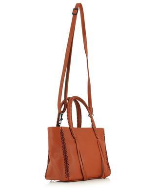 Kleine Handtasche aus genarbtem Leder Iconic Mini CALLISTA