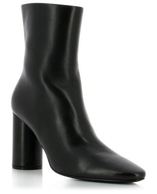 Oval smooth leather ankle boots BALENCIAGA