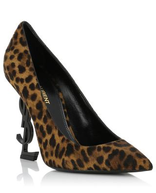 Pumps aus Leoparden-Ponyleder Opyum 110 SAINT LAURENT PARIS