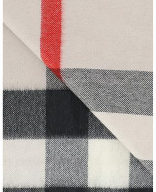 Check pattern cashmere scarf BURBERRY