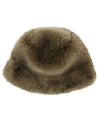 Chapeau en fourrure synthétique Fuzzy Cloche / FAZ / NOT FUR