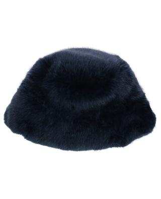 Fuzzy Cloche faux fur hat / FAZ / NOT FUR