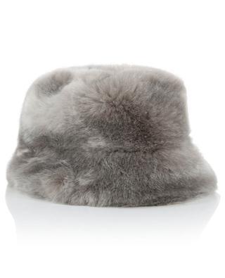 Faux fur bucket hat / FAZ / NOT FUR