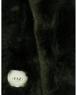 Swinger faux fur stole / FAZ / NOT FUR