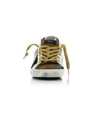 Sneakers mit Schlangenprint und schwarzem Stern Superstar GOLDEN GOOSE