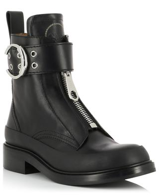 Roy zipperede leather ankle boots CHLOE