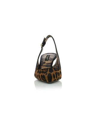 Sling-Back-Pumps mit Leopardenprint Lori DOLCE & GABBANA