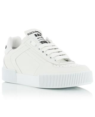 Miami low-top lace-up leather sneakers DOLCE & GABBANA