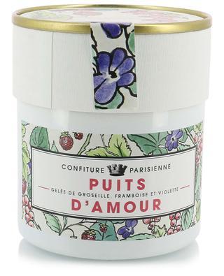 Gelée de groseille, framboise et violette Puits d'Amour CONFITURE PARISIENNE