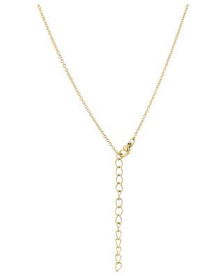Goldene Halskette mit Koralle Coral Shell THEGOLDLOVESHOP