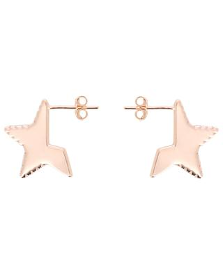 Star & Strass stud earrings THEGOLDLOVESHOP