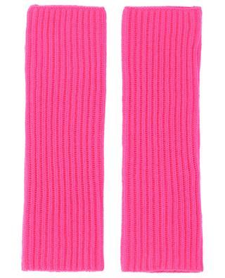 Rib knit cashmere mittens BONGENIE GRIEDER