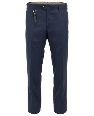 Slim fit virgin wool trousers MARCO PESCAROLO