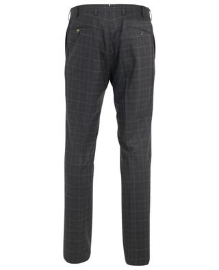 Slim80 checked cashmere blend slim fit trousers MARCO PESCAROLO