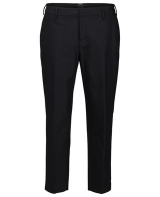 New York cotton tapered leg trousers PT01