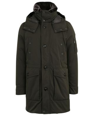 Bolgheri-WCO padded parka with removable fur trim MOORER