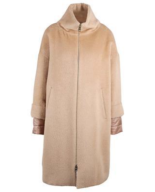Mantel aus Alpaca- und Schurwollmix HERNO