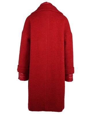Manteau en laine mélangé avec gilet amovible HERNO