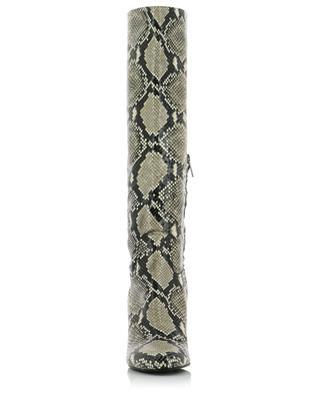 Bottes à talon effet python Tube Zip BONGENIE GRIEDER