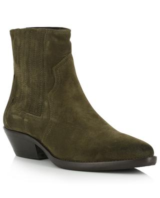 Cowboy ankle boots in suede BONGENIE GRIEDER