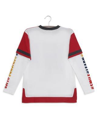 Back To School layer look T-shirt DOLCE & GABBANA