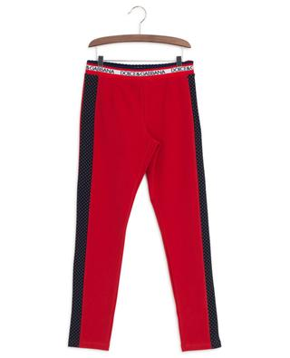 Back To School cotton blend leggings DOLCE & GABBANA