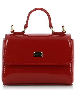 Sicily spirit patent leather handbag DOLCE & GABBANA