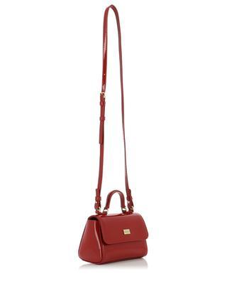 Handtasche aus Lackleder im Sicily-Design DOLCE & GABBANA