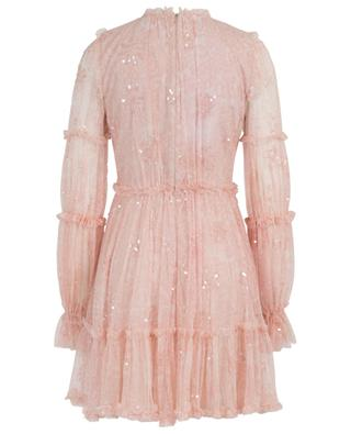 Anya short floral sequined tulle dress NEEDLE &THREAD