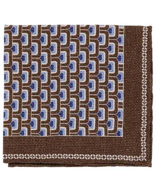 Easy reverible graphic pocket square ROSI COLLECTION