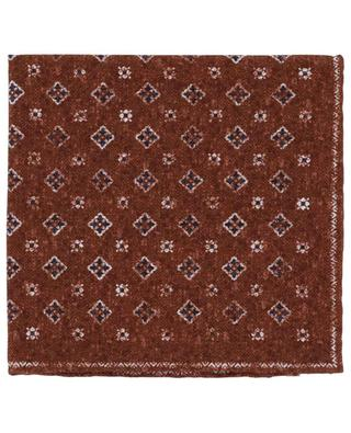 Easy reversible floral pocket square ROSI COLLECTION