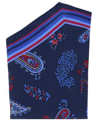 Kendal diamond shaped paisley print shawl ROSI COLLECTION
