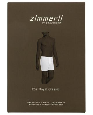 252 Royal Classic cotton fitting boxer shorts ZIMMERLI