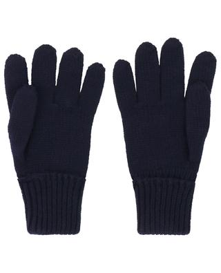 Virgin wool knit gloves IL TRENINO