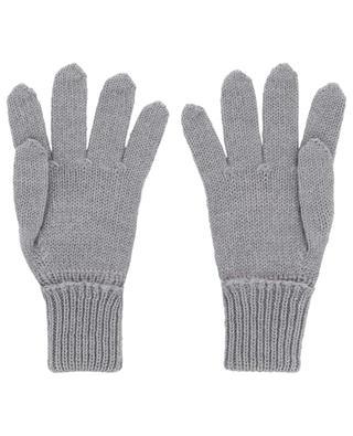 Virgin wool knit gloves IL TRENINO