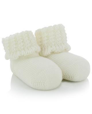Virgin wool knit slippers IL TRENINO