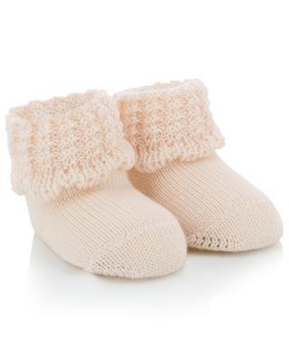 Chaussons tricot en laine vierge IL TRENINO
